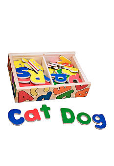Melissa & Doug Magnetic Wooden Alphabet - Online Only