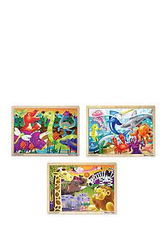 Melissa & Doug 24-Piece Jigsaw Bundle