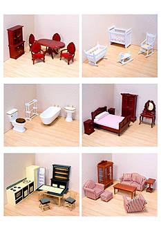 Melissa & Doug Victorian Dollhouse Furniture Bundle - Online Only