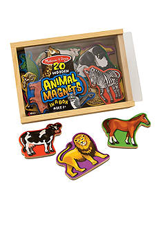 Melissa & Doug Magnetic Wooden Animals - Online Only