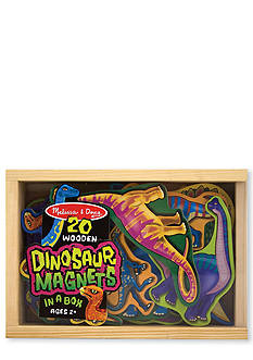 Melissa & Doug Wooden Dinosaur Magnets - Online Only