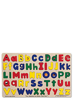 Melissa & Doug Upper and Lowercase Alphabet Puzzle - Online Only