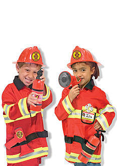 Melissa & Doug Fire Chief Role Play Costume Set - Online Only