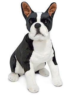 Melissa & Doug Boston Terrier Plush Toy - Online only