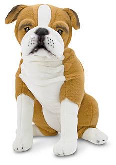 Melissa & Doug English Bulldog Plush Toy - Online Only