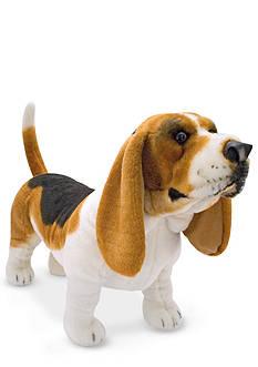 Melissa & Doug Basset Hound Plush Toy - Online Only