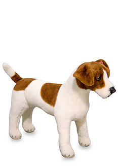 Melissa & Doug Jack Russell Terrier Plush Toy - Online Only