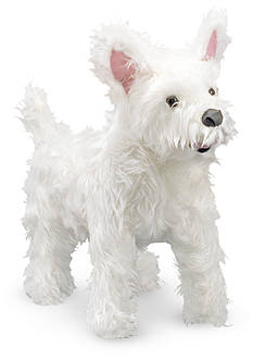 Melissa & Doug Plush West Highland Terrier