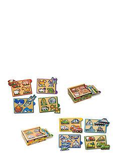 Melissa & Doug Mini-Puzzle Pack Bundle