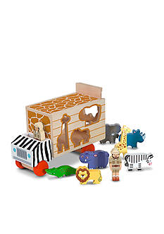 Melissa & Doug Animal Rescue Shape-Sorting Truck - Online Only