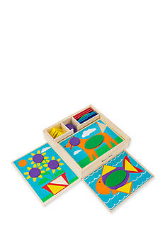 Melissa & Doug Beginning Pattern Blocks - Online Only