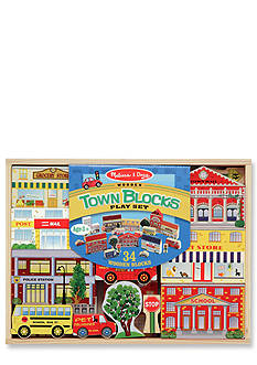 Melissa & Doug Town Blocks Play Set - Online Only