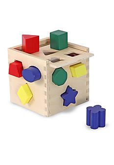 Melissa & Doug Shape Sorting Cube - Online Only