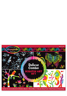 Melissa & Doug Deluxe Combo Scratch Art Set - Online Only