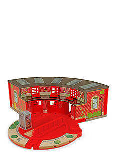 Melissa & Doug Roundhouse & Turntable Set