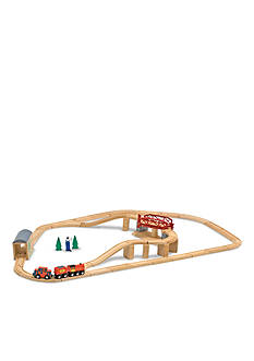 Melissa & Doug Trains & Vehicle Sets Swivel Bridge Train Set - Online Only