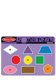 Melissa & Doug Sound Puzzle Shape Set