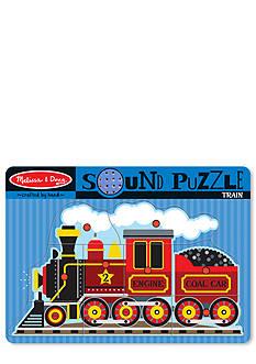 Melissa & Doug Sound Puzzle Train Set