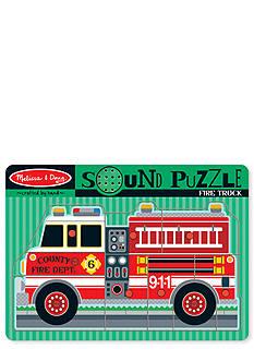 Melissa & Doug Sound Puzzle Fire Truck