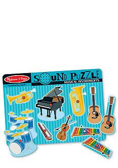 Melissa & Doug Sound Puzzle Musical Instrument Set
