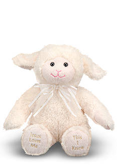 Melissa & Doug Jesus Loves Me Lamb - Online Only