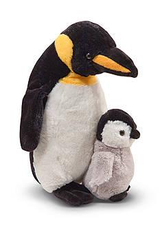 Melissa & Doug Plush Webber Penguin With Baby