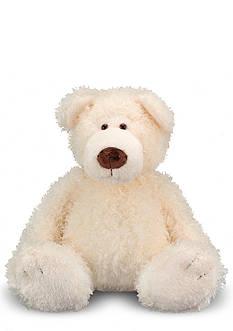 Melissa & Doug Cream Big Roscoe Bear - Online Only