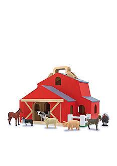Melissa & Doug Fold N Go Barn-Online Only