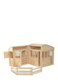 Melissa & Doug Folding Horse Stable Set