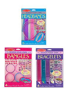 Melissa & Doug Bracelets, Headbands and Bangles - Girls' Accessories Bundle