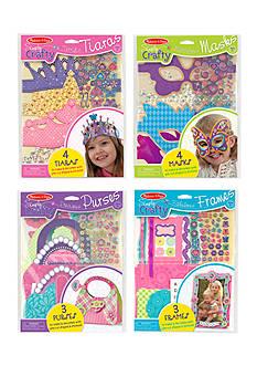 Melissa & Doug Simply Crafty Bundle- Tiaras, Masks, Purses and Petals