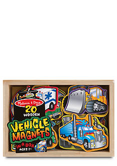 Melissa & Doug Wooden Vehicle Magnets - Online Only