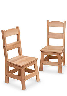 Melissa & Doug Hardwood Kids' Chairs