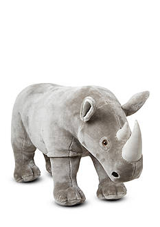 Melissa & Doug Rhino Plush-Online Only
