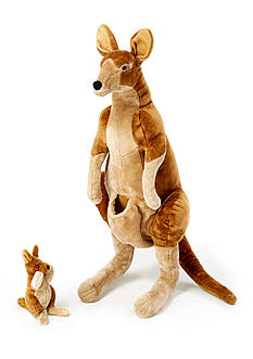 Melissa & Doug Kangaroo N Joey Plush - Online Only