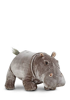 Melissa & Doug Hippo Plush-Online Only