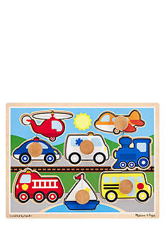 Melissa & Doug Jumbo Knob Vehicles