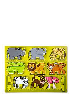 Melissa & Doug Stacking Chunky Safari - Online Only