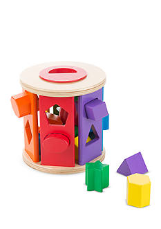 Melissa & Doug Match and Roll Shape Sorter
