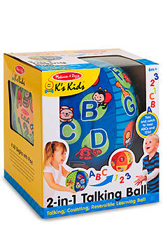Melissa & Doug 2 in 1 Talking Ball - Online Only