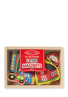 Melissa & Doug Wooden Farm Magnets-Online Only