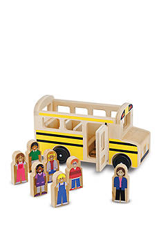 Melissa & Doug School Bus Play Set-Online Only