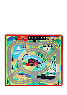 Melissa & Doug Round Town Road Rug-Online Only