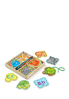 Melissa & Doug Alaphabet Lacing Cards-Online Only