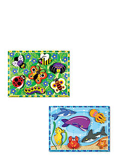 Melissa & Doug Chunky Bundle- Sea Life & Insects