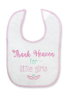 Nursery Rhyme Thank Heaven For Little Girls Bib