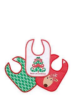 Nursery Rhyme 3-Pack Holiday Bibs