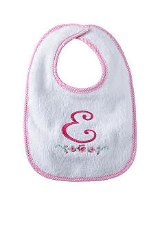 Nursery Rhyme Girl Initial E Bib
