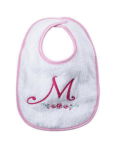 Nursery Rhyme Girl Initial M Bib