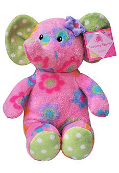 Nursery Rhyme Elephant Plush Toy